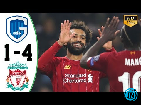 Genk vs Liverpool 1-4 - All Highlights & Goals
